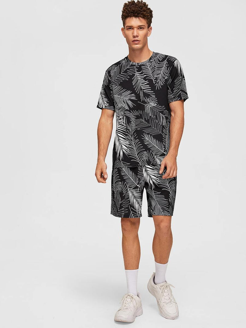 Leaf T-shirt & Shorts Set