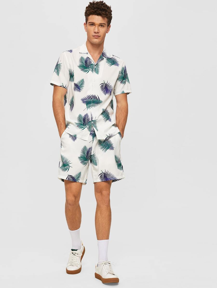 Tropical Shirt & Shorts Set - This Is For Him