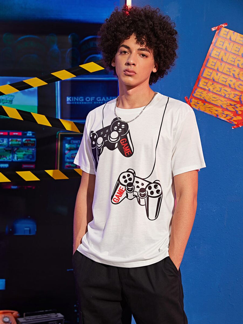 Game Controller Graphic T-Shirt