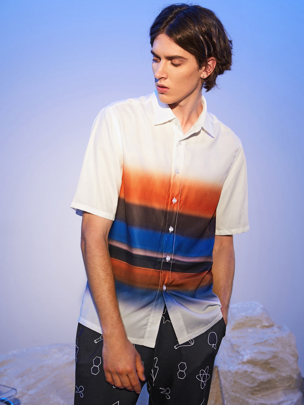 Colorblock Shirt - This Is For Him