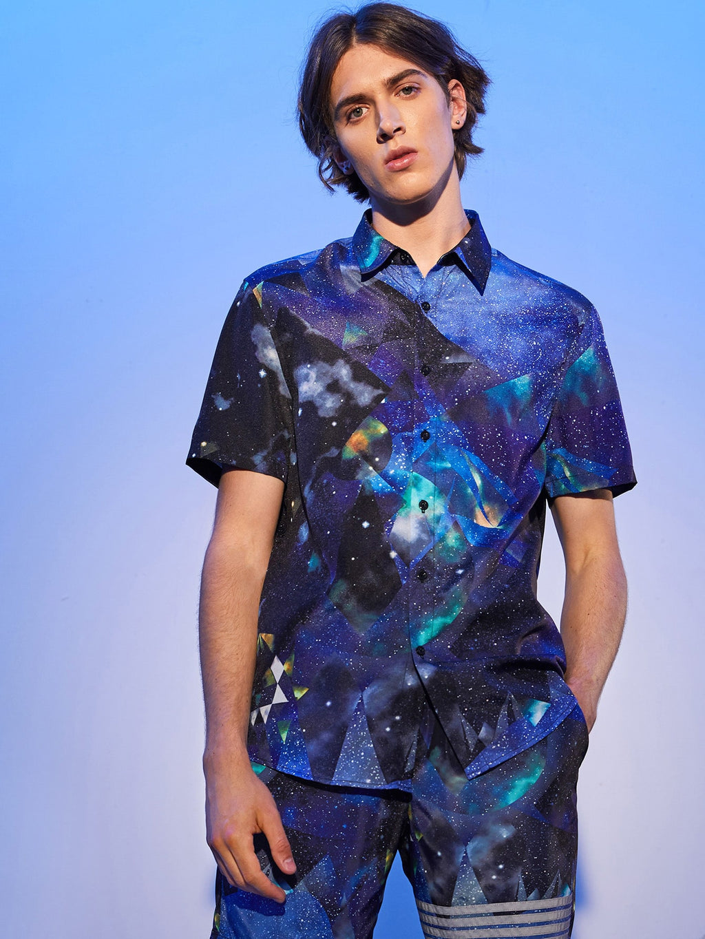 Galaxy Short Sleeve Shirt - This Is For Him
