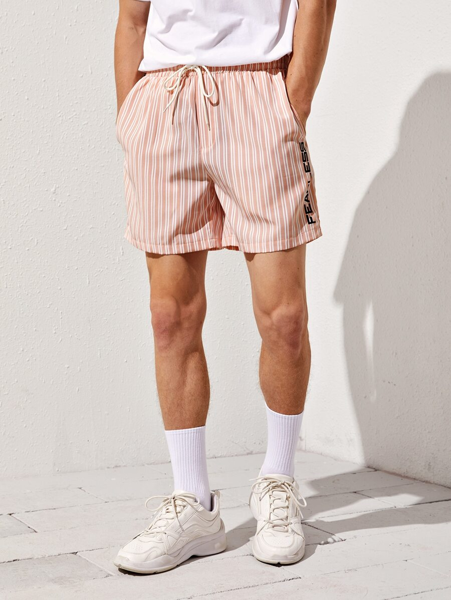 """Fearless"" Striped Shorts"
