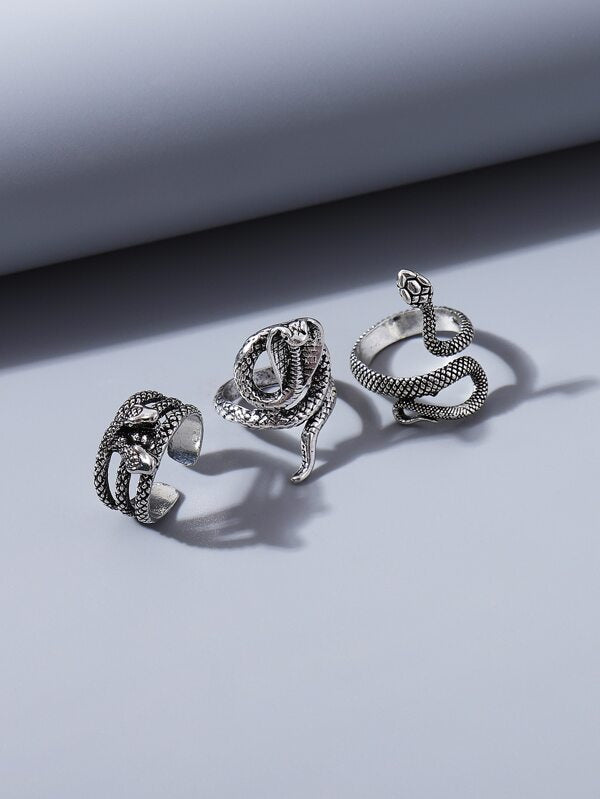 Snakes Ring (3 pieces)