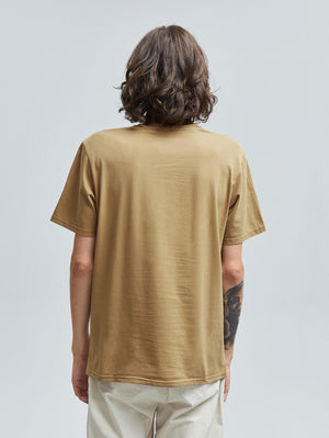 Go Out More And Worry Less Brown T-Shirt 2