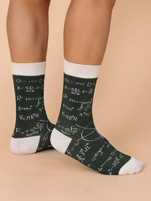 Mathematics Formula Socks 5