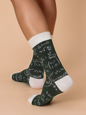 Mathematics Formula Socks 6
