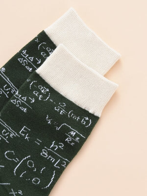 Mathematics Formula Socks 2