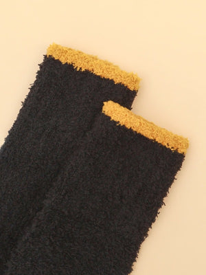 Black Fuzz Socks 2