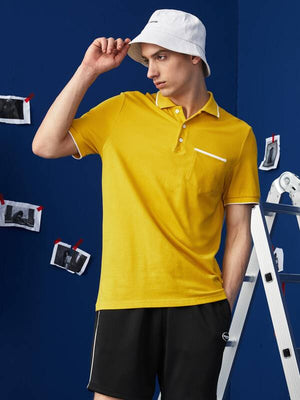 Yellow Polo Shirt 2
