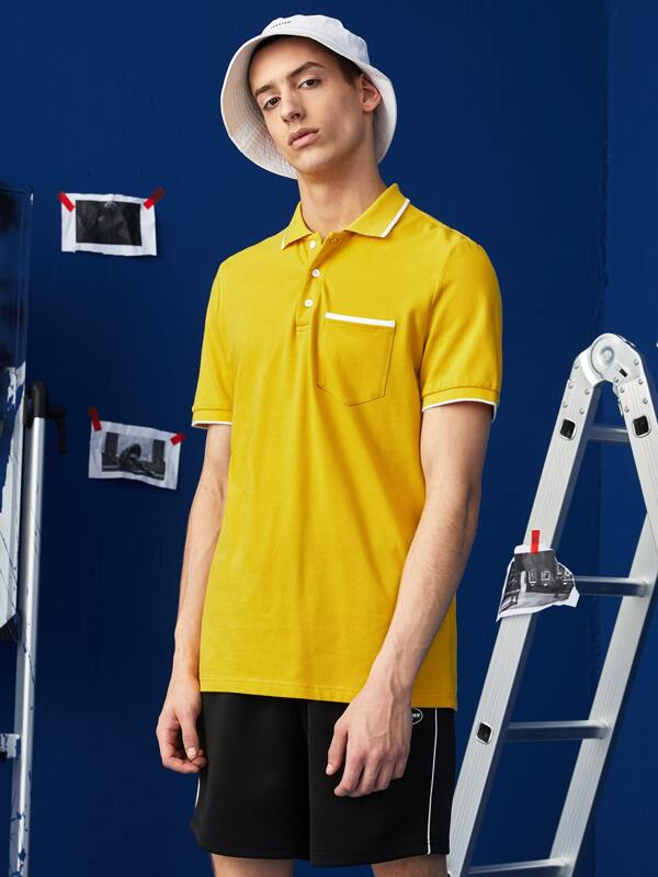 Yellow Polo Shirt