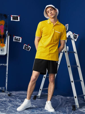 Yellow Polo Shirt 4