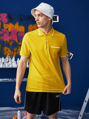 Yellow Polo Shirt 5