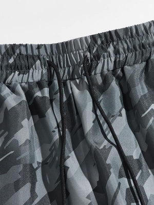Camouflage Cargo Pants 3
