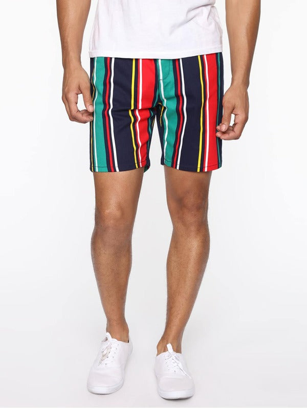 Colorful Stripe Shorts