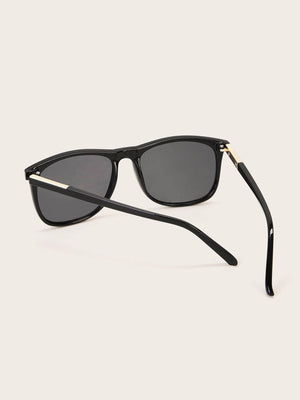 Solid Frame Sunglasses