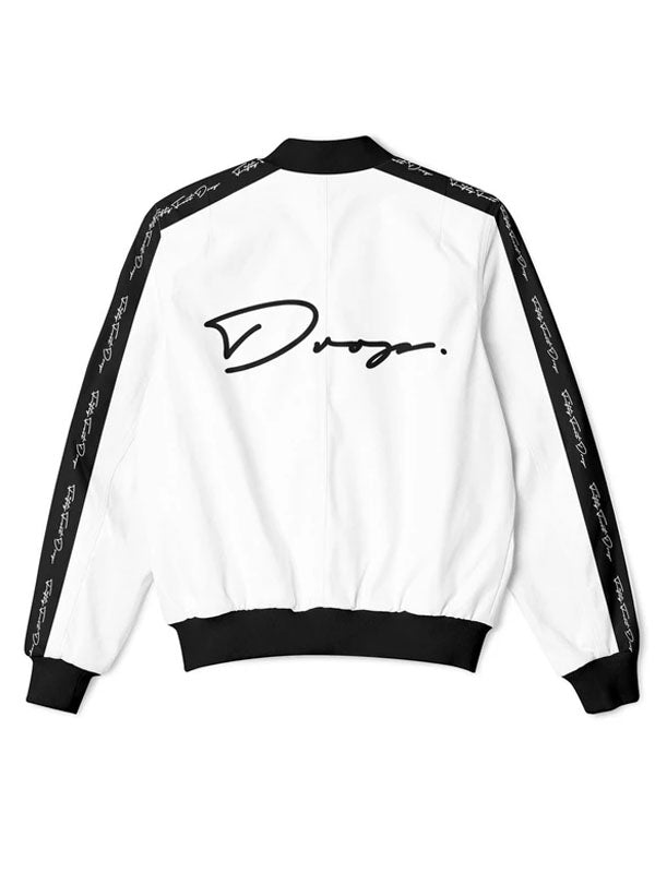 Fifty Foot Drop The Drop White Tracksuit Jacket