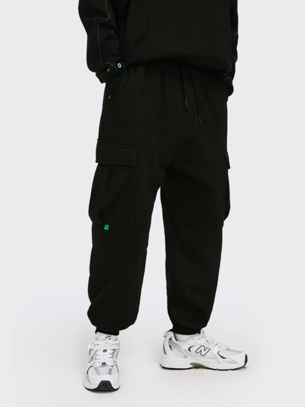 Fleece Sweatpants Black