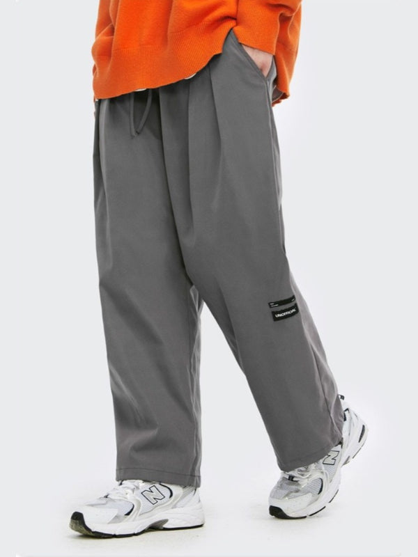 """Unofficial"" Loose Pants Charcoal"