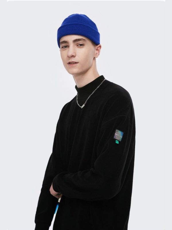 Semi Turtleneck Sweatshirt Black