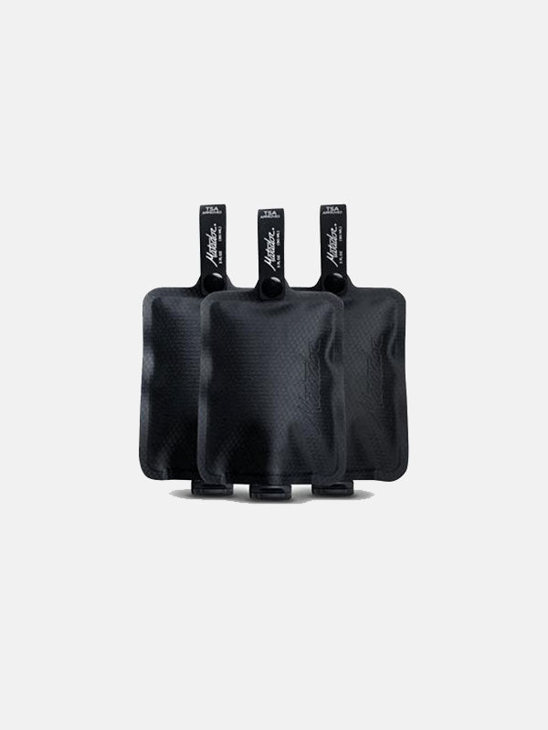 Matador FlatPak™ Toiletry Bottle (3 Packs)