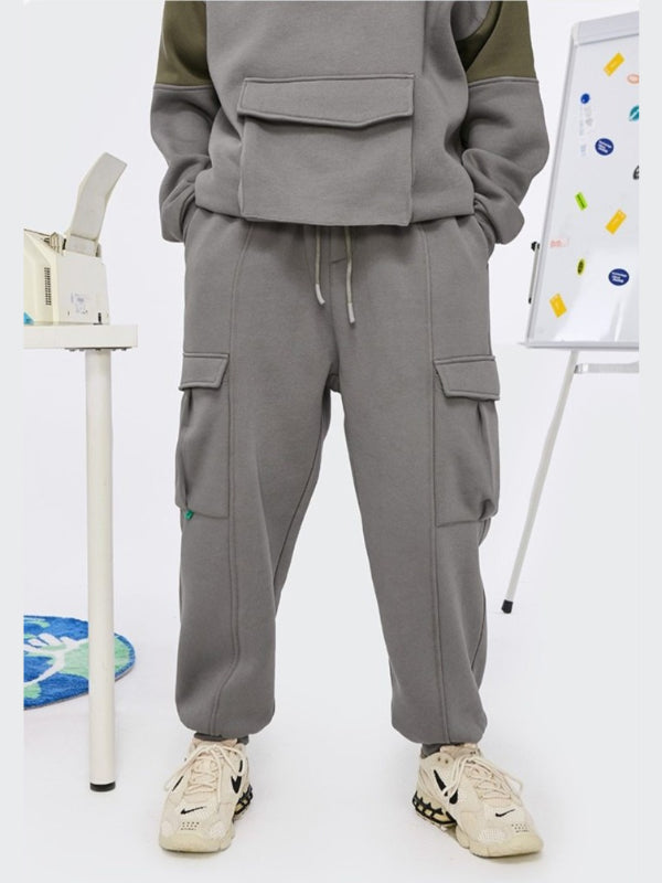 Fleece Sweatpants Mid Grey