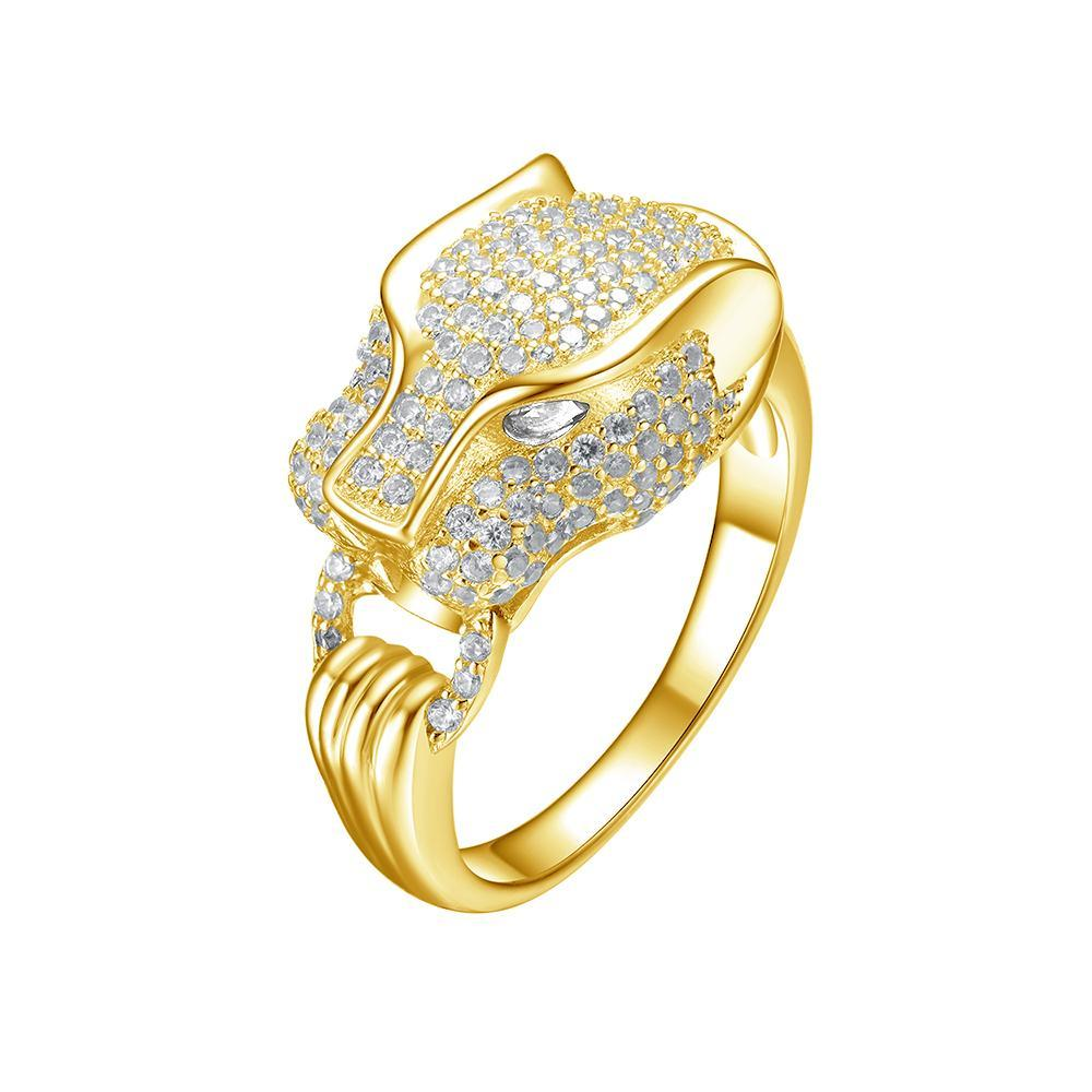 Mister SFC Saber Ring - Gold Vermeil - This Is For Him