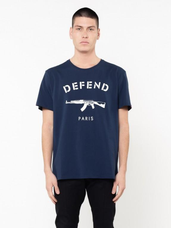 Defend Paris Paris Tee Denim
