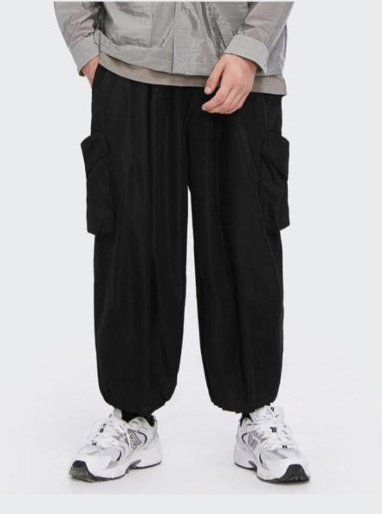 Baggy Cargo Pants Black