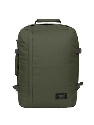 Cabinzero Classic 44L Ultra-Light Cabin Bag in Georgian Khaki Color