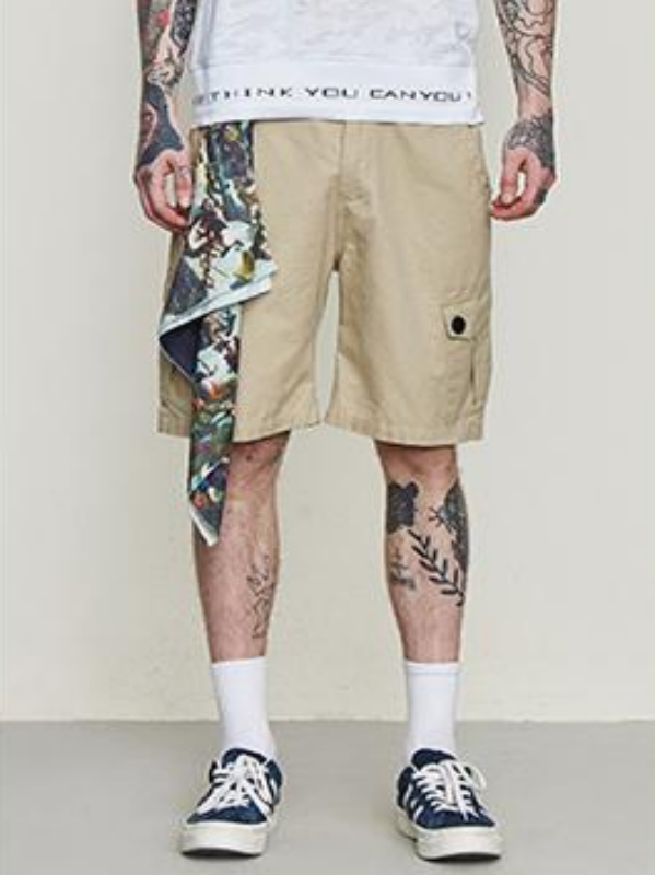 Khaki Cargo Shorts - This Is For Him