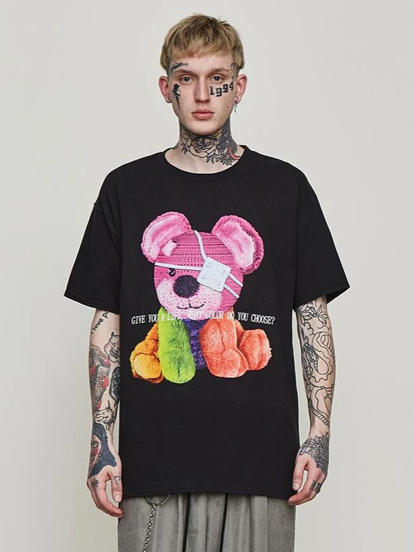 Colorful Bear T-Shirt