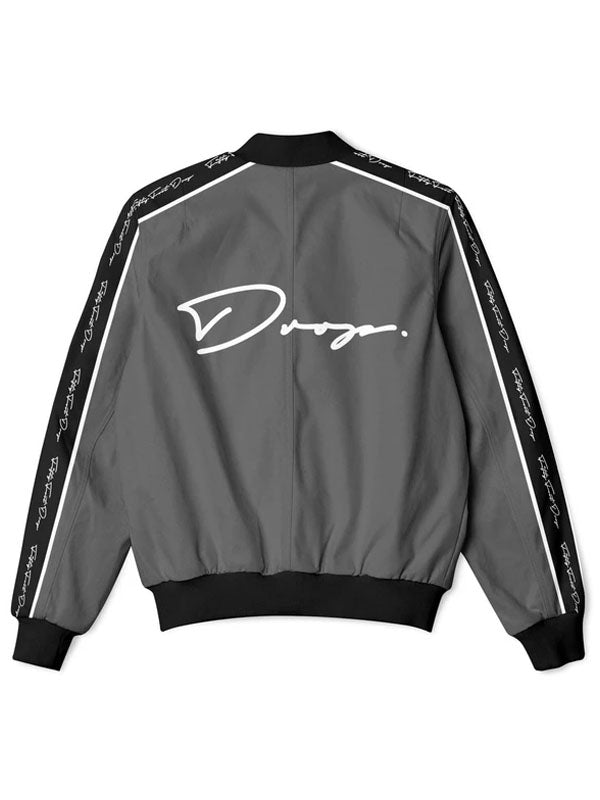 Fifty Foot Drop The Drop Dark Grey Tracksuit Jacket