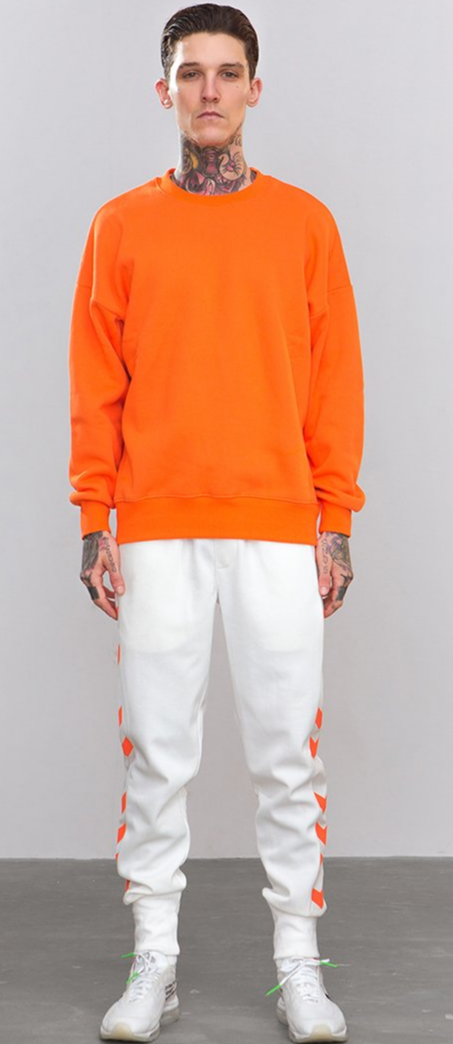Orange Sweatshirt - This Is For Him