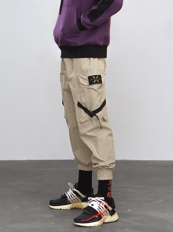 Cargo Pants With Side Pocket Tape - This Is For Him