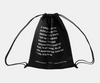 Words Drawstring Bag