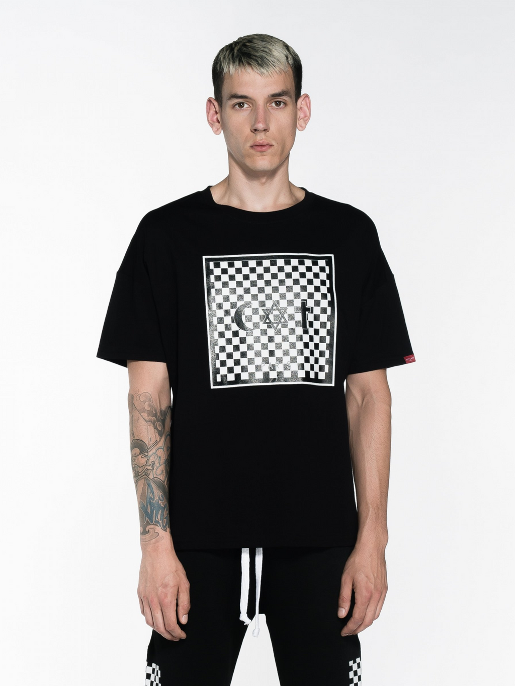 DEFEND PARIS ICE DAMIER CO TEE - This Is For Him