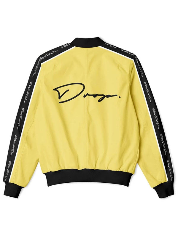 Fifty Foot Drop The Drop Gold Tracksuit Jacket