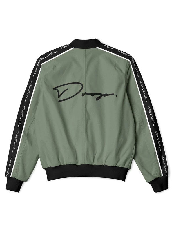 Fifty Foot Drop The Drop Khaki Tracksuit Jacket