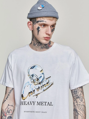 Chrome Heavy Metal T-Shirt