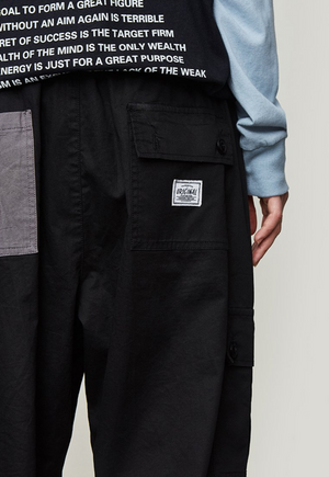 Cargo Pants With Grey Pocket