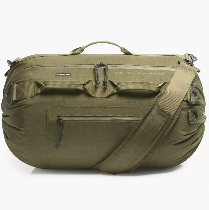 Piorama The Adjustable Bag A10 in Military Green Color