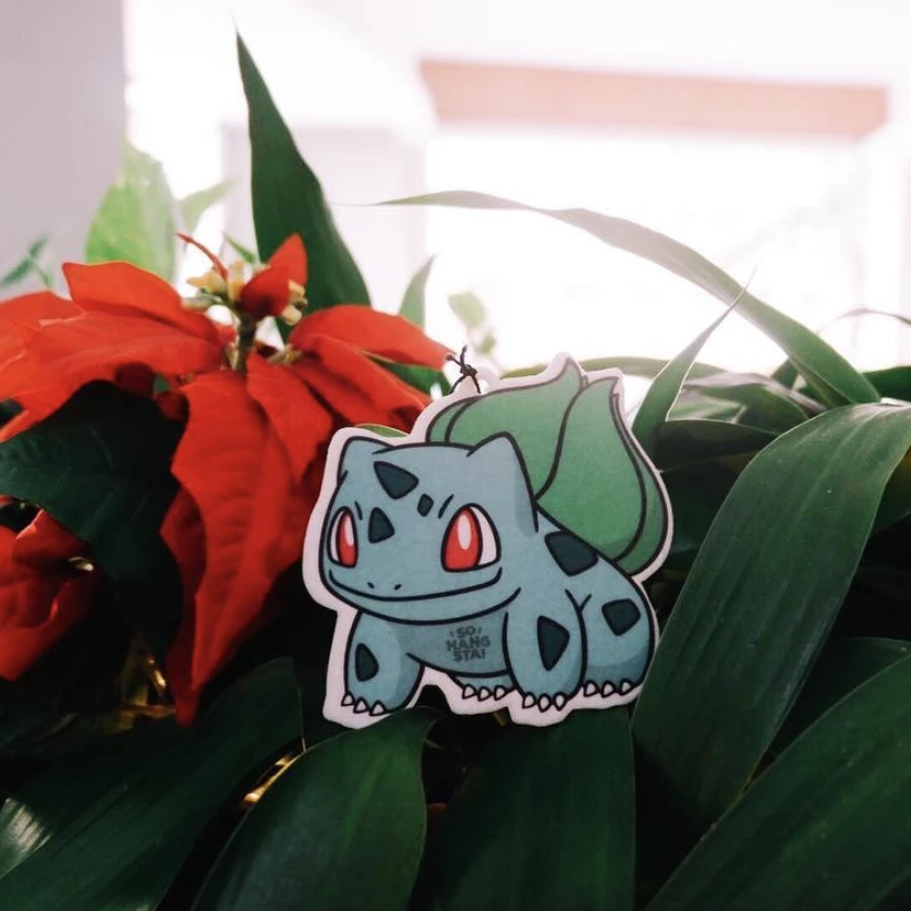 Bulbasaur Air Freshener - This Is For Him