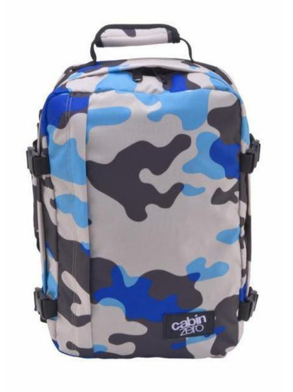 Cabinzero Classic Ultra-Light Cabin Bag in Blue Camo Color