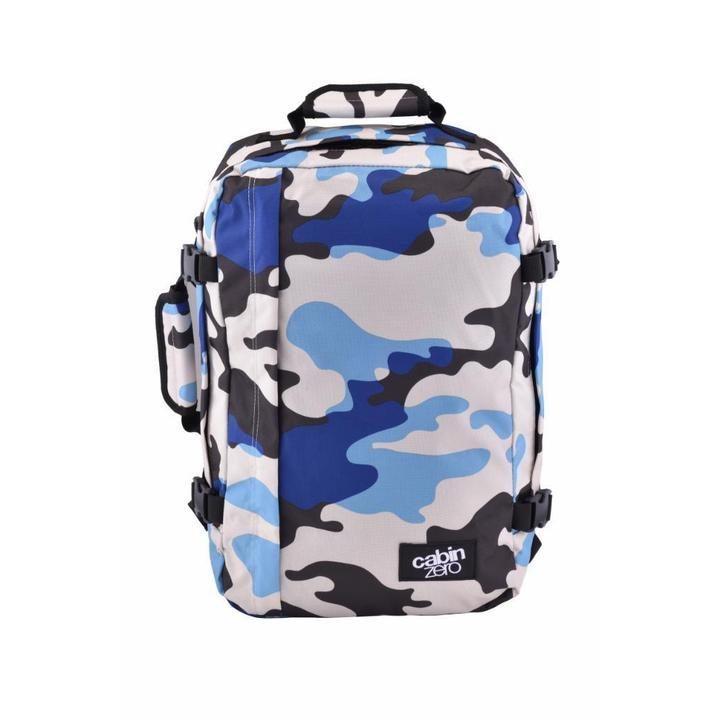 Cabinzero Classic 36L Ultra-Light Cabin Bag in Blue Camo Color