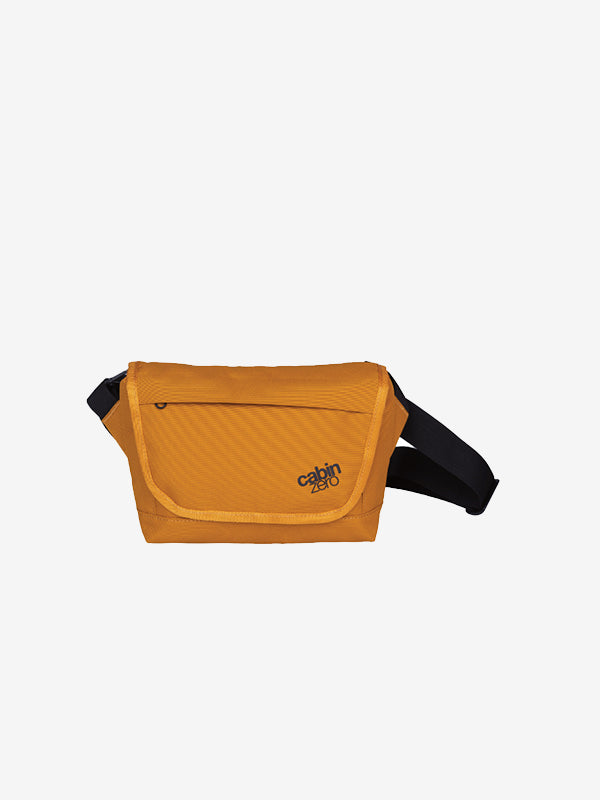 Cabinzero Flapjack Shoulder Bag 4L in Orange Chill Color