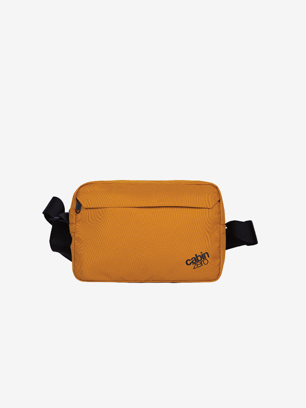 Cabinzero Flipside Shoulder Bag 3L in Orange Chill Color