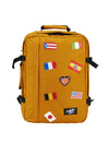Cabinzero Classic 44L Limited Edition Flags Bag in Orange Chill Color