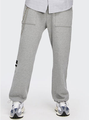 """Positioning"" Grey Sweatpants 2"