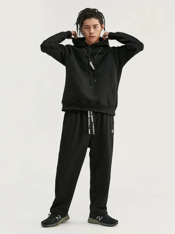 """Art"" Loose Fit Sweatpants in Black Color - This Is For Him"
