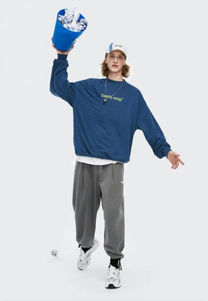 """Earth Song"" Sweatpants Charcoal 5"